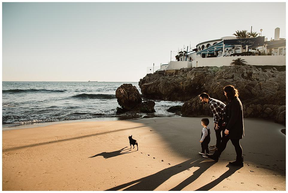 Sesión de embarazo en la playa del Garraf, Barcelona