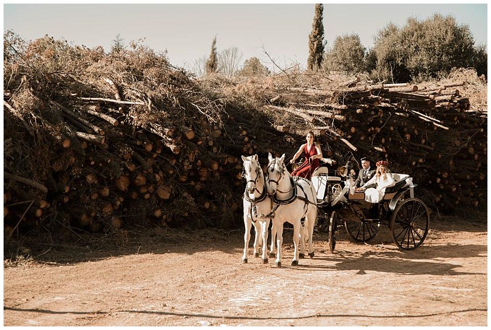 Boda Boho en Sellares Rural