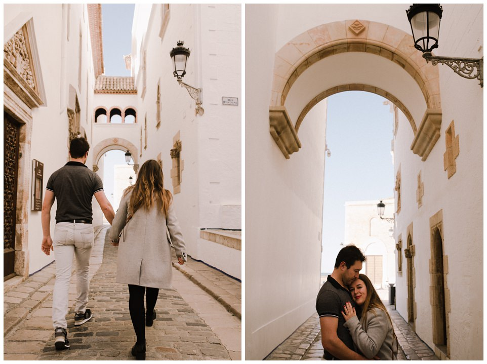 sesion de pareja en Sitges Barcelona